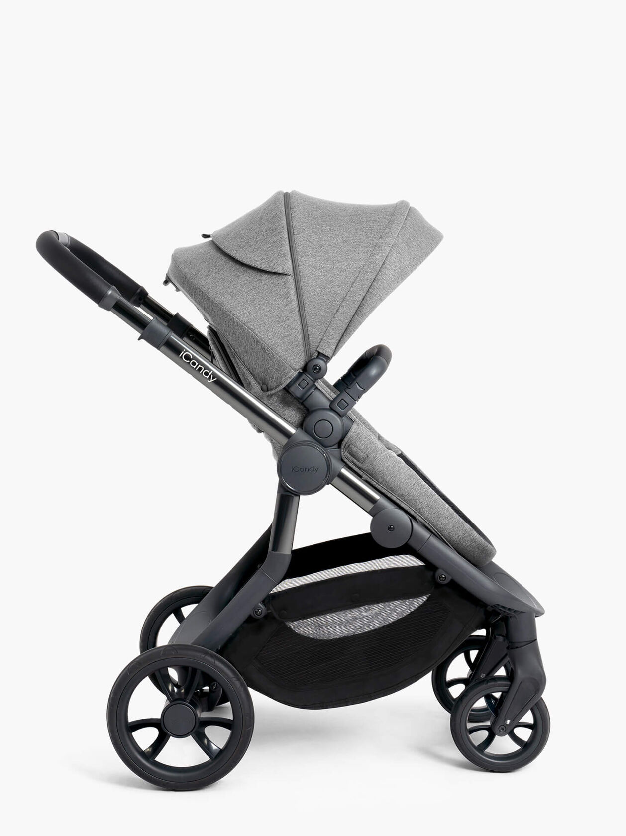 Orange Pushchair and Carrycot