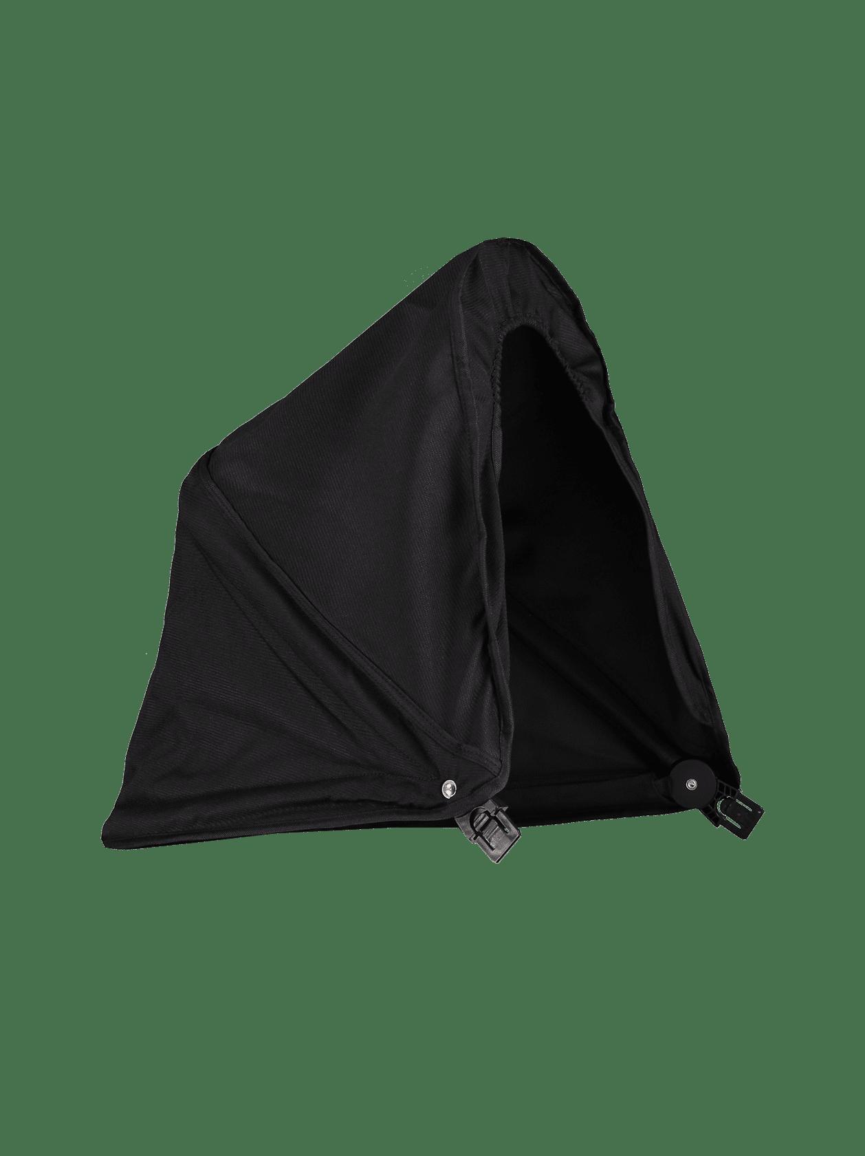 Cherry Pushchair Hood Black