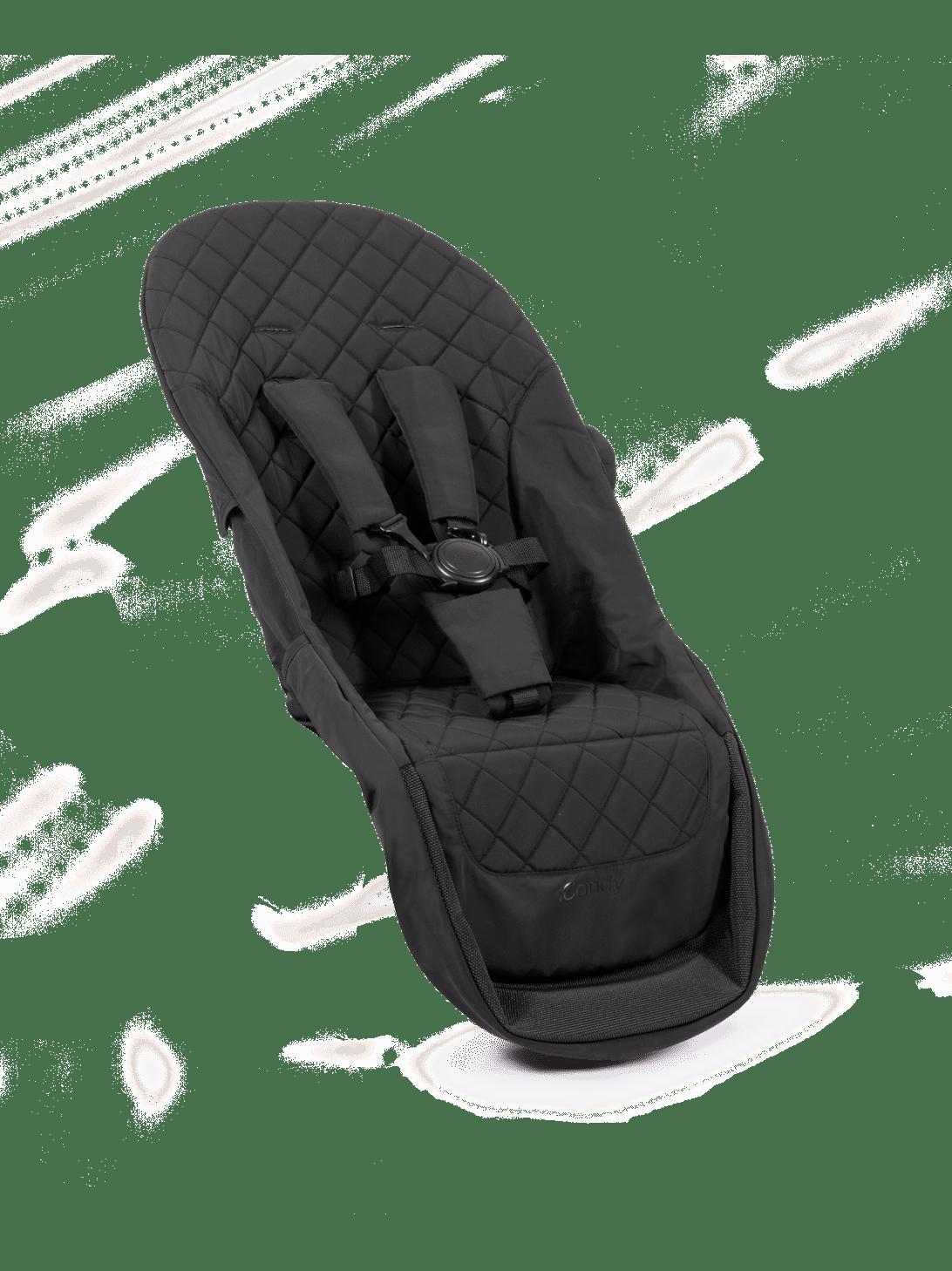 Orange 2018 Seat Unit Fabric - Black