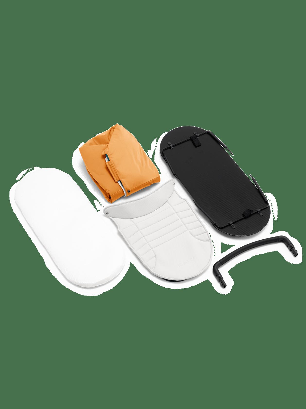 Peach 2nd Carrycot Fabric - Nectar