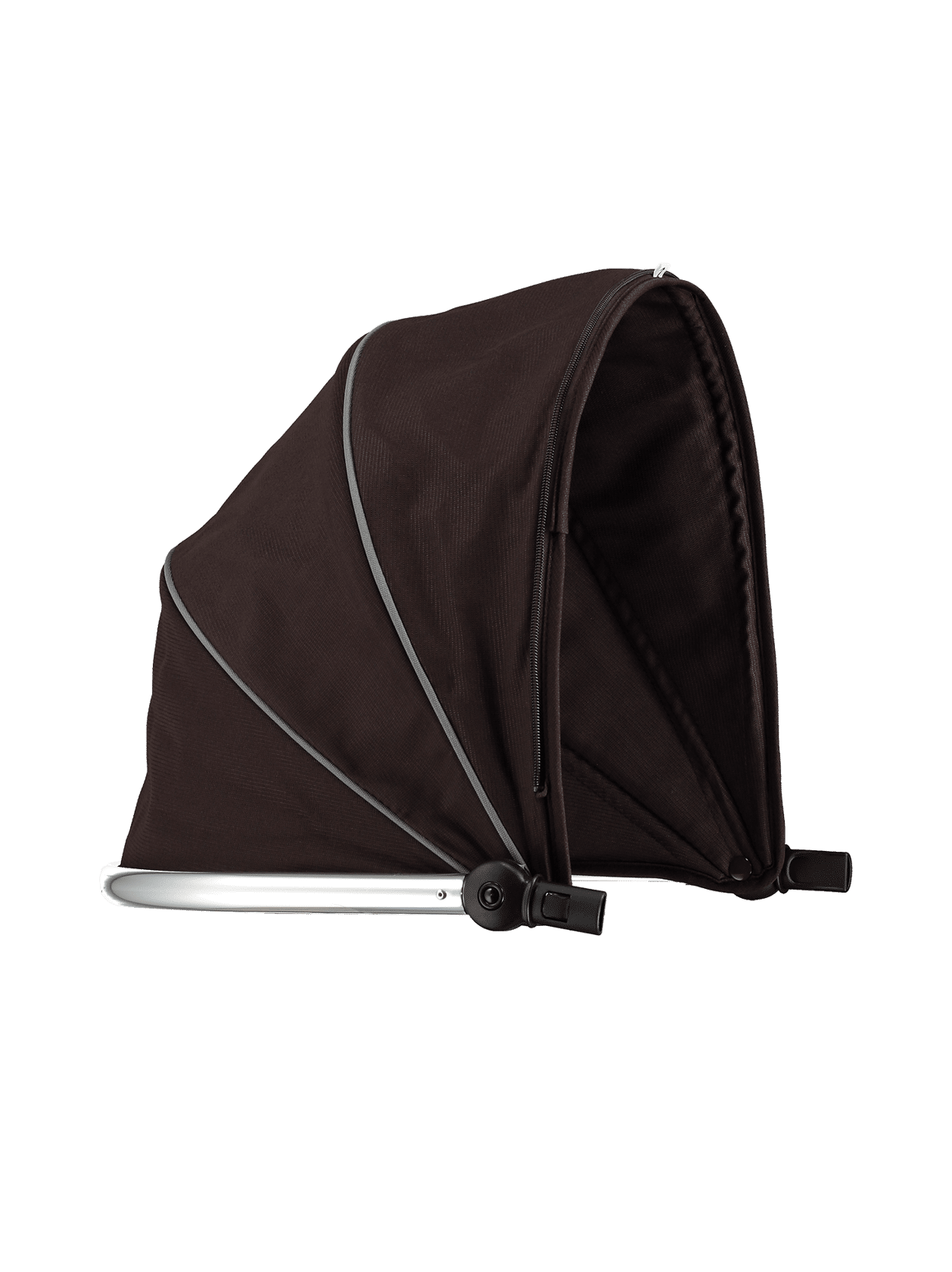 Peach Main Carrycot Hood Black Jack