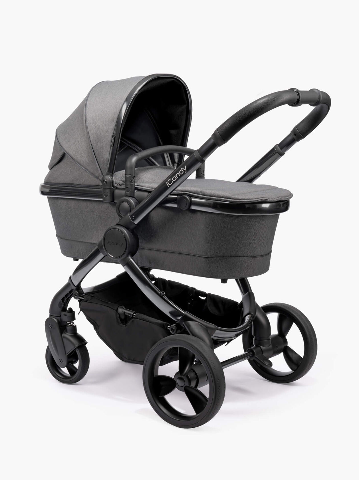 Peach Pushchair and Carrycot With Bag & Duo Pod
