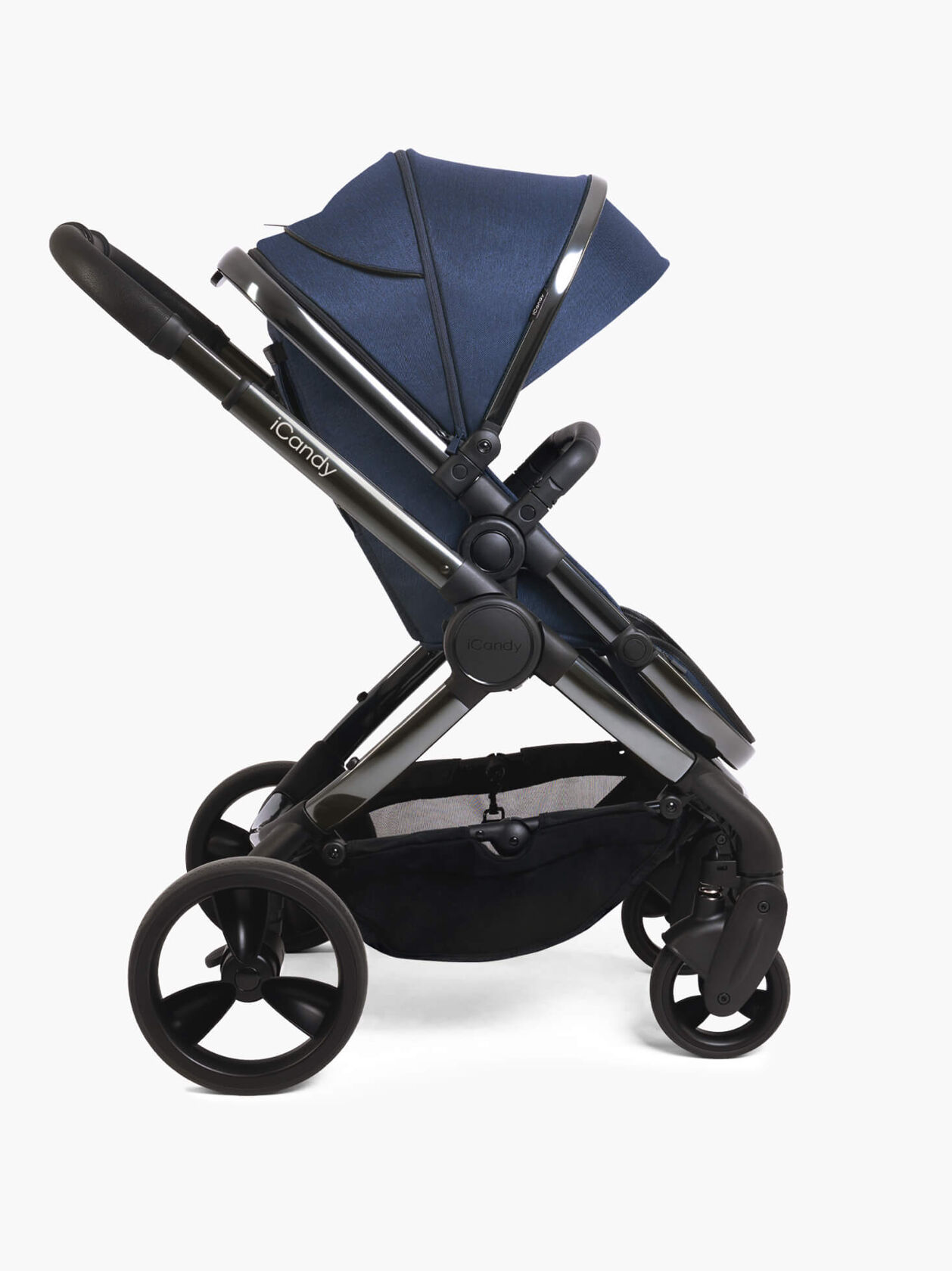 Peach Pushchair and Carrycot