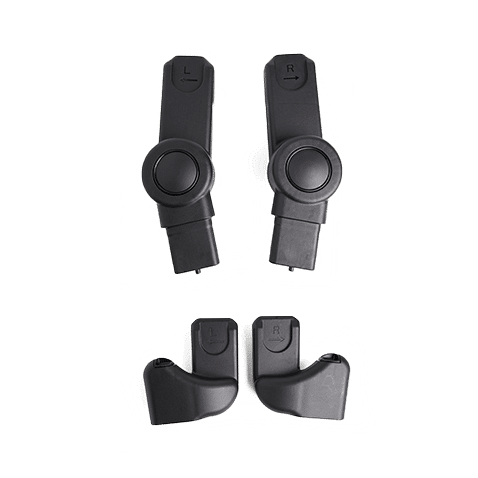 Peach All-Terrain Main and Lower Car Seat Adaptors
