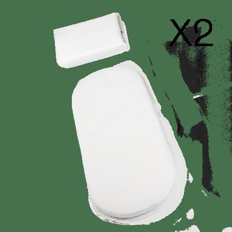 Peach All-Terrain Mattress Liner x2